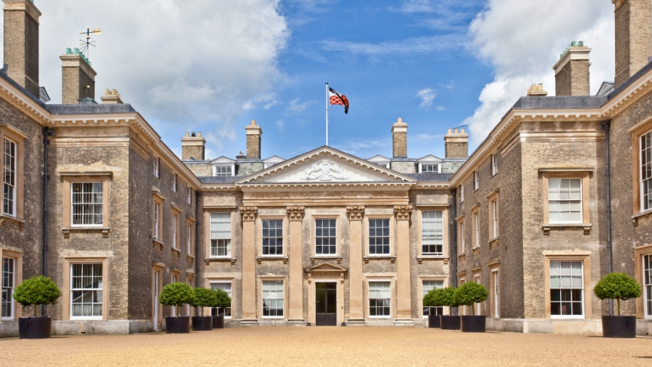 front of Althorp House