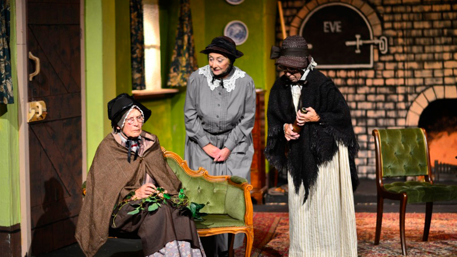 production of 'ladies in retirement'