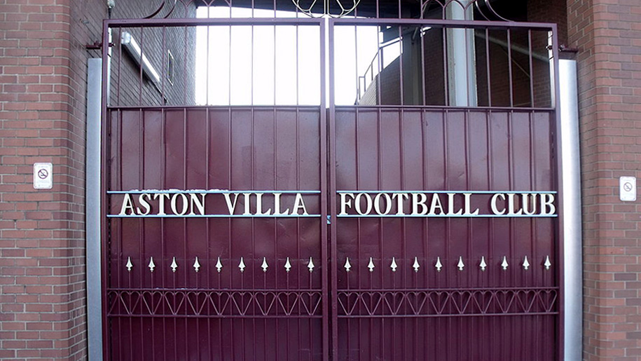 gates to the football club