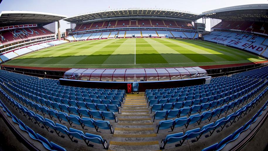 football pitch and stadium seats