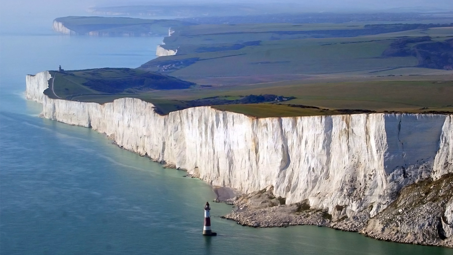 beachy head from the air