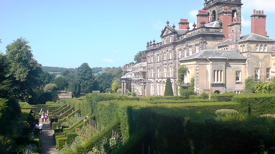 manor house and gardens