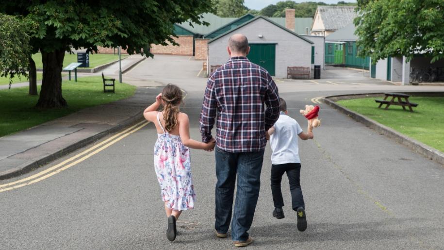 Bletchely park holding hands