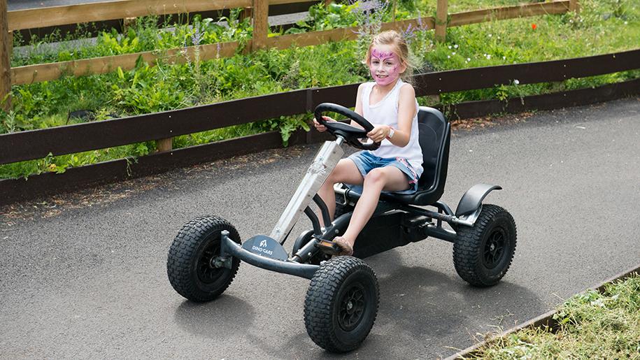 Bocketts Farm Park Go Kart