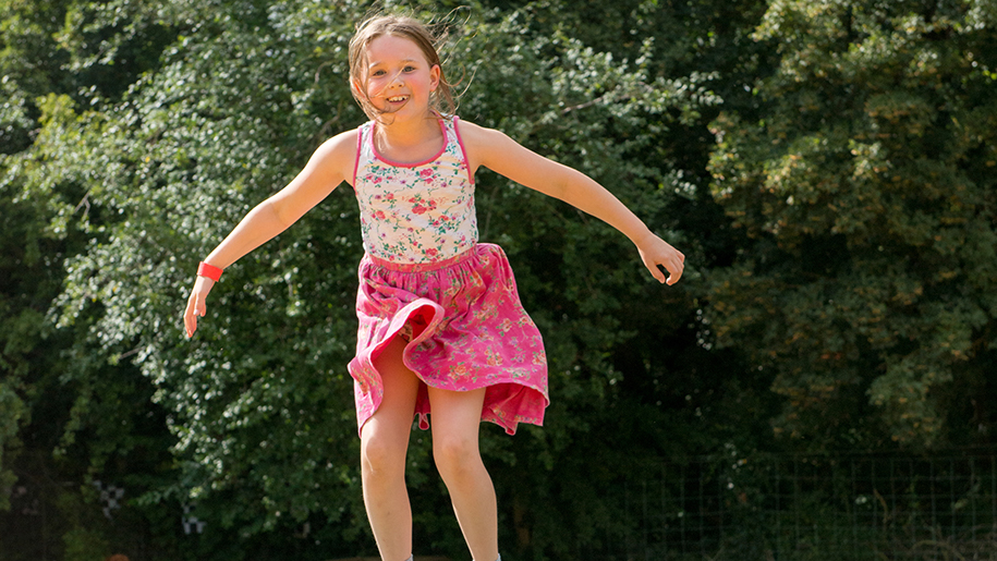 Bocketts Farm Park Jumping