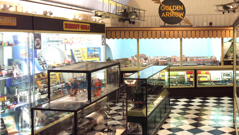 inside the Brighton toy museum
