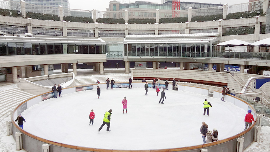 people ice-skating