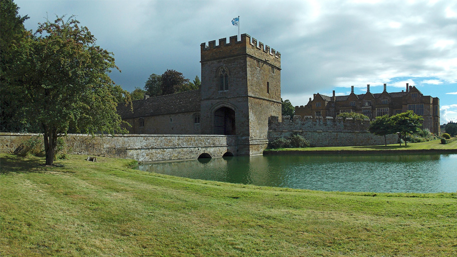 moat entrance to castle