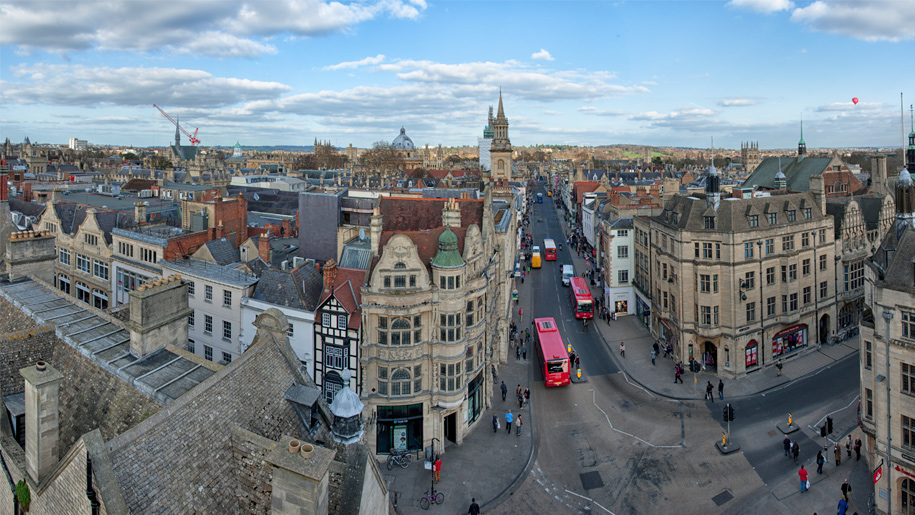 view from top of st martin's tower