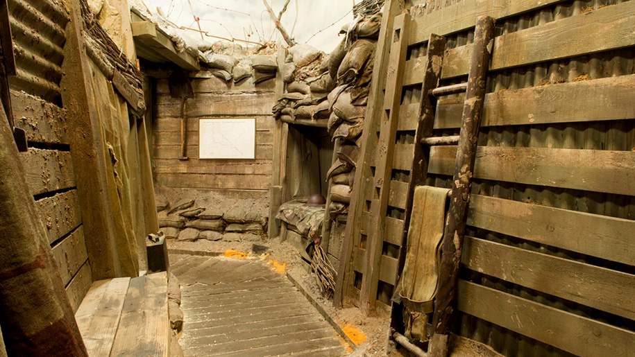 museum trenches