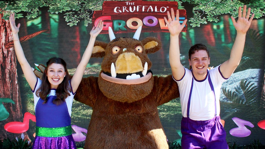 the gruffalo at chessington