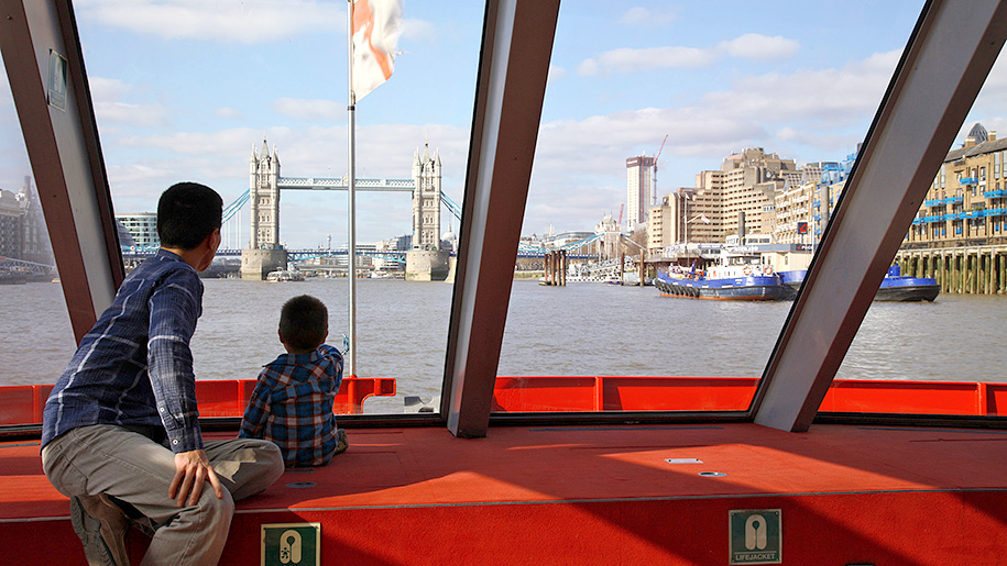 City Cruises London Kids on boat