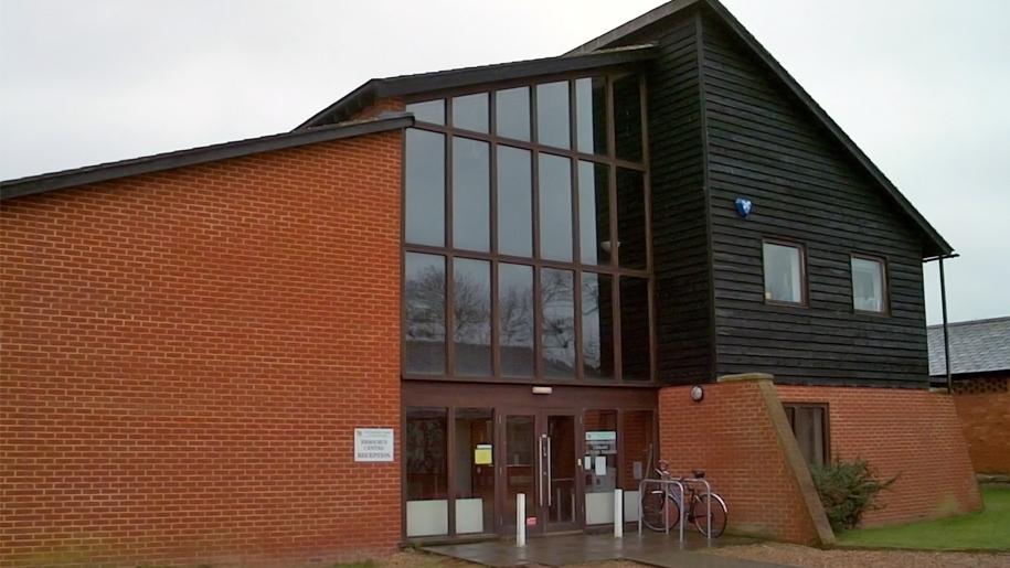 exterior of discovery centre