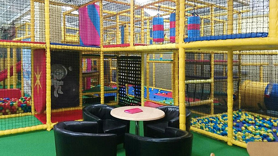 Crazy Tykes indoor play area