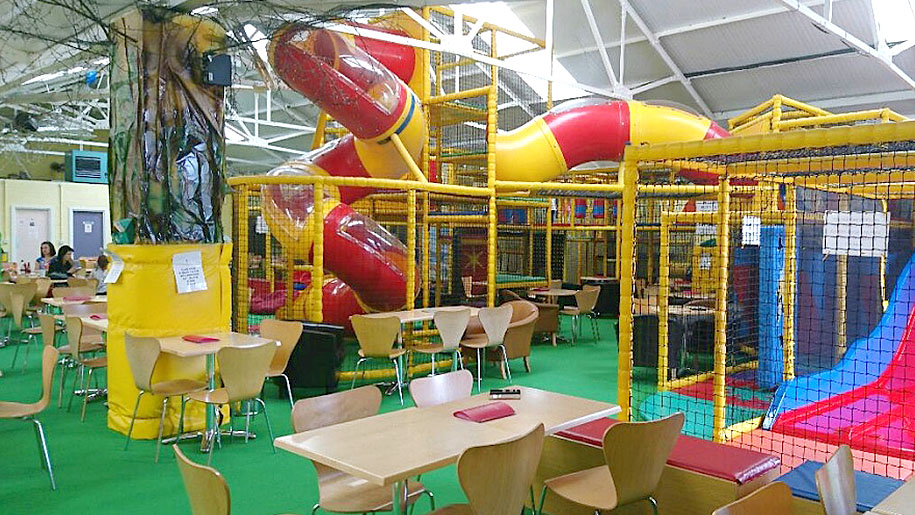 Crazy Tykes indoor slides