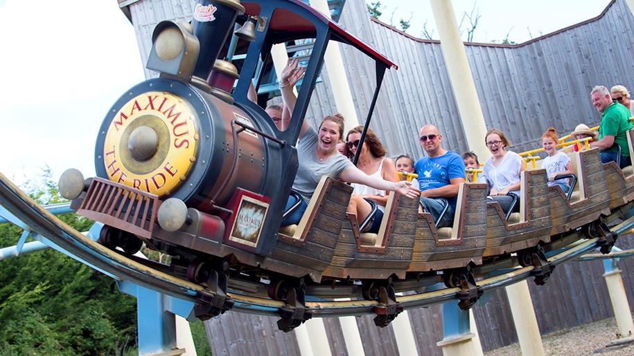 Crealy Adventure Park train ride