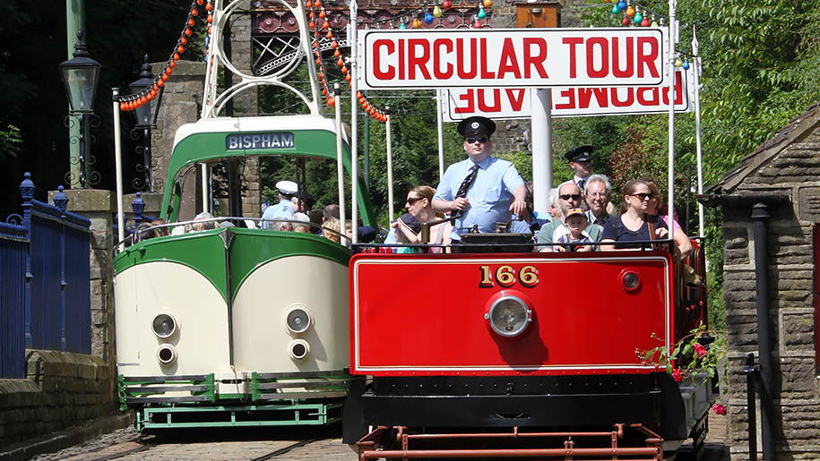 Crich Tramway Village Trams