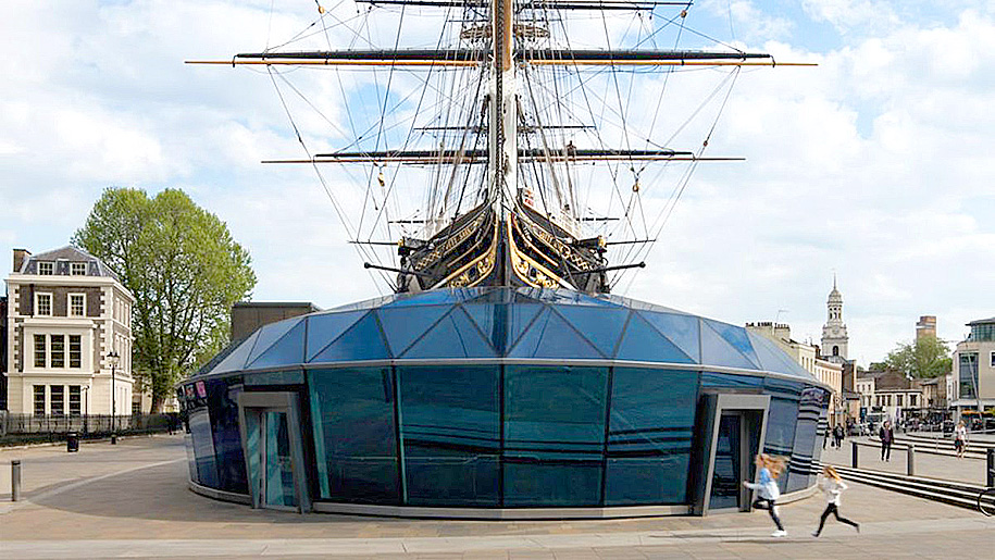 Cutty Sark Outside of ship