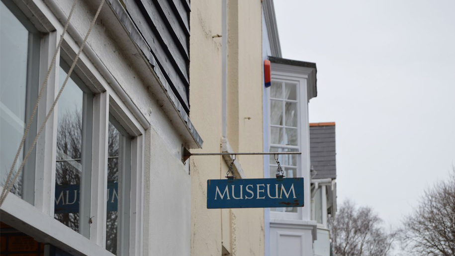 museum sign on the exterior