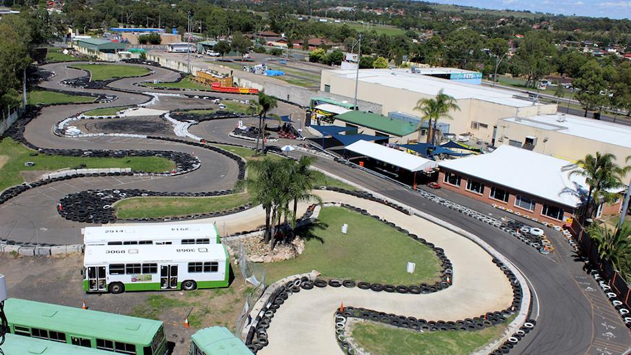 race kart track