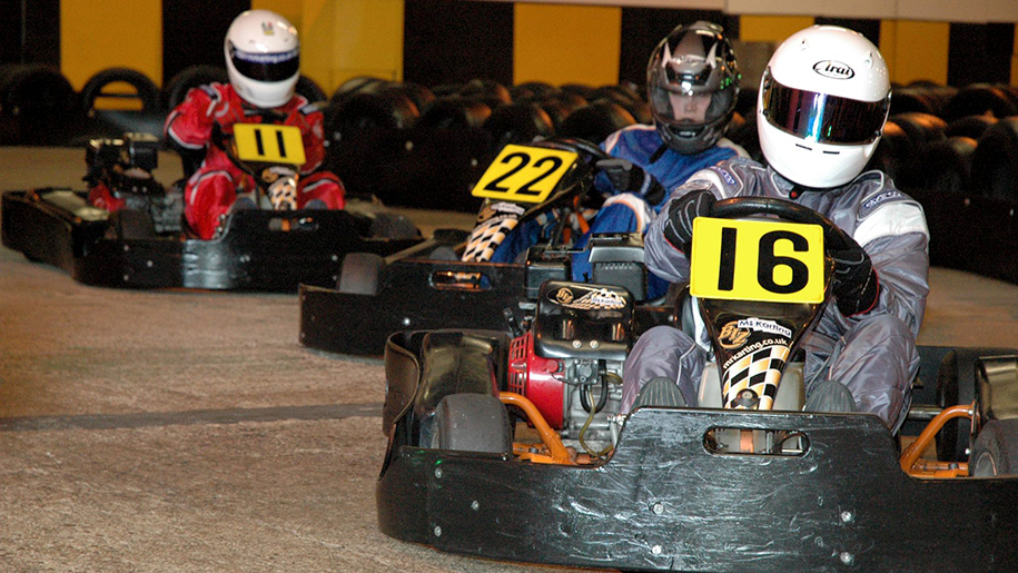 people go karting
