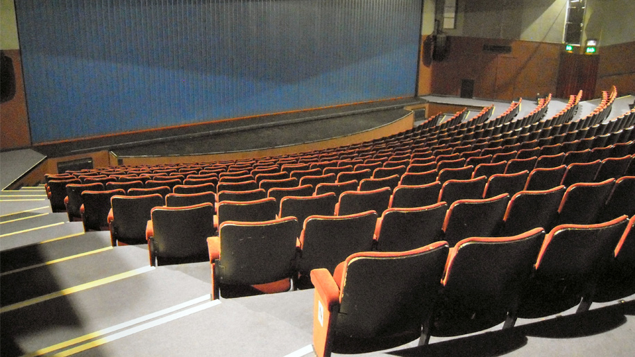 theatre seats to stage