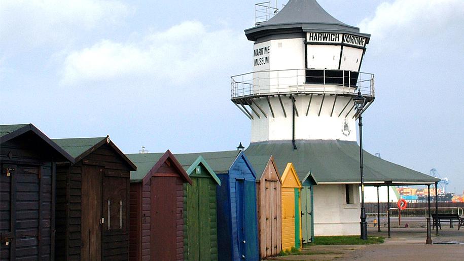coloured sheds