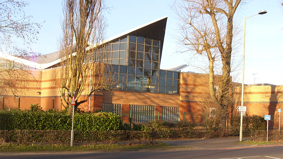 exterior of swim centre
