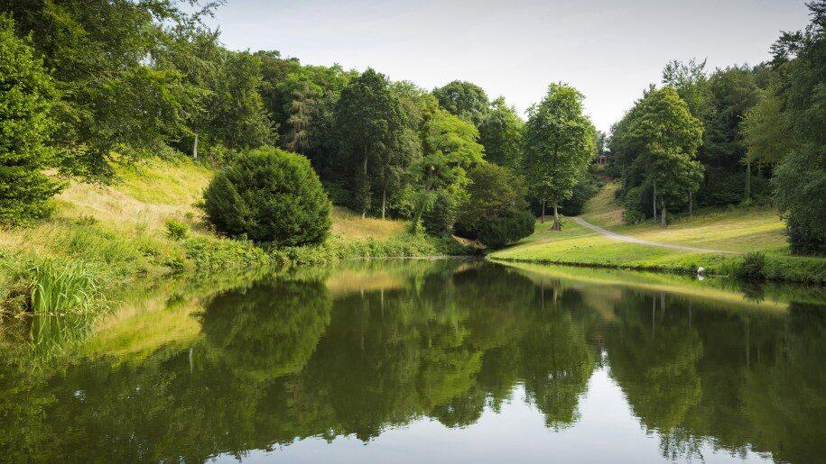 Hestercombe lake