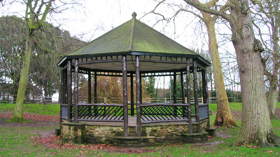 band stand in park