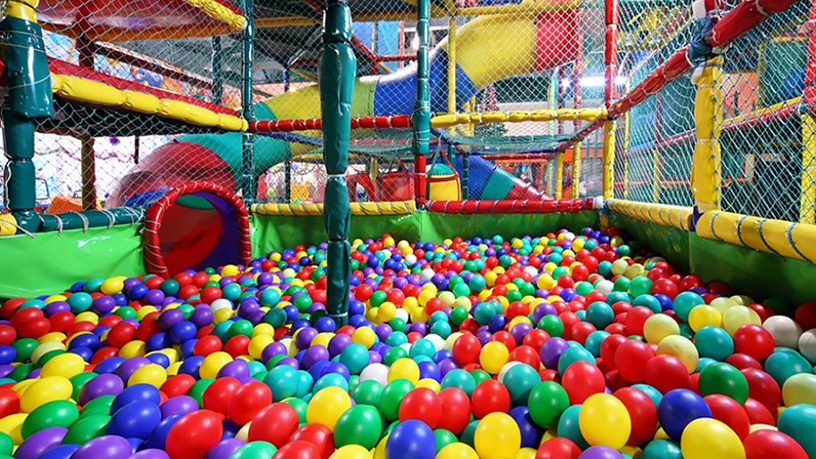 ball pool and soft play area