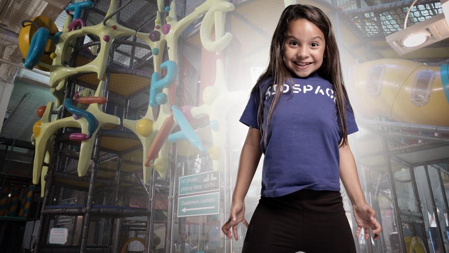 girl in kidspace