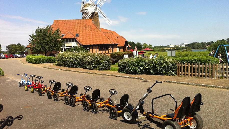 row of motion bikes