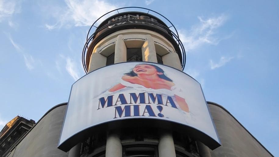 exterior of mamma mia