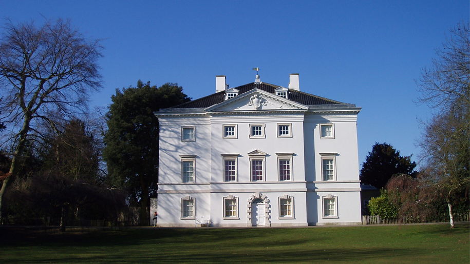 marble hill house exterior