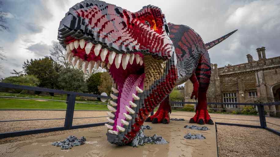 marwell zoo, brickosaurs