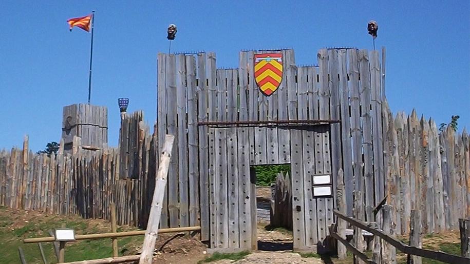 norman style gateway