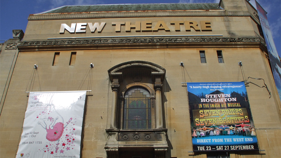exterior of the new theatre