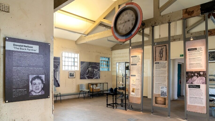 Displays at Oxford Castle & Prison