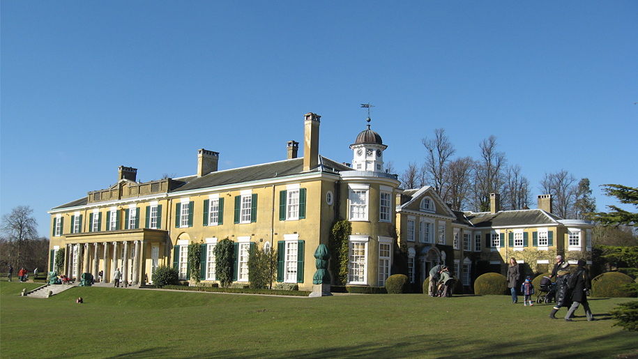 southern front of polesden lacey