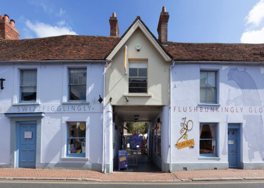 Roald Dahl Museum and Story Centre outside view