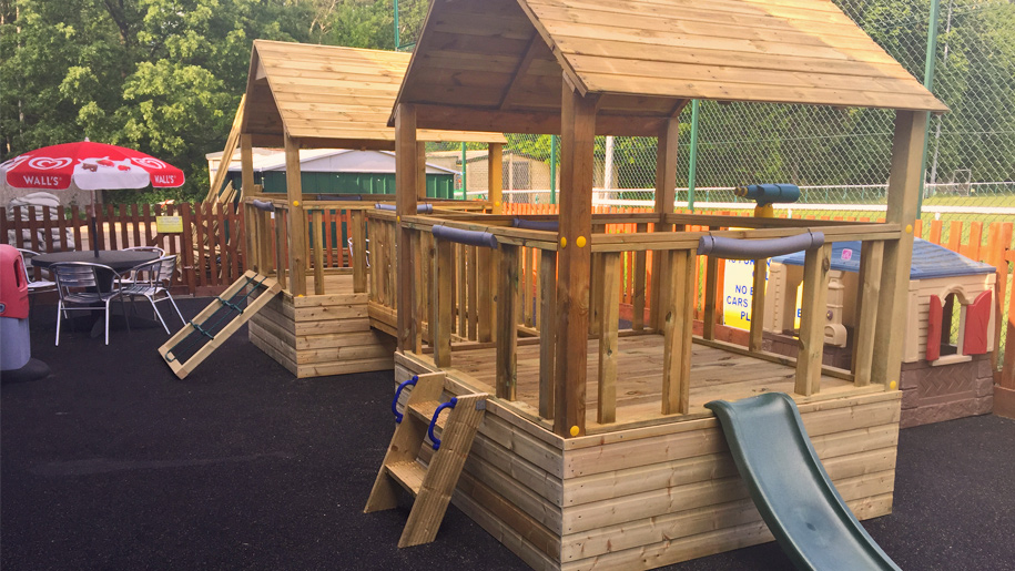 wooden play frames