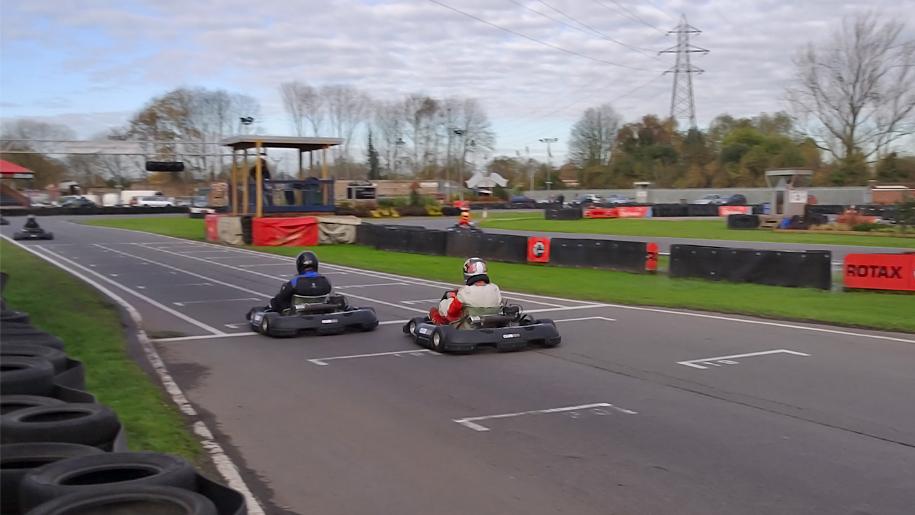 people go karting