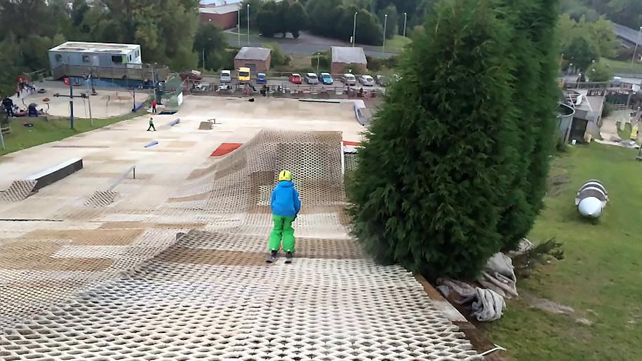 dry ski slope