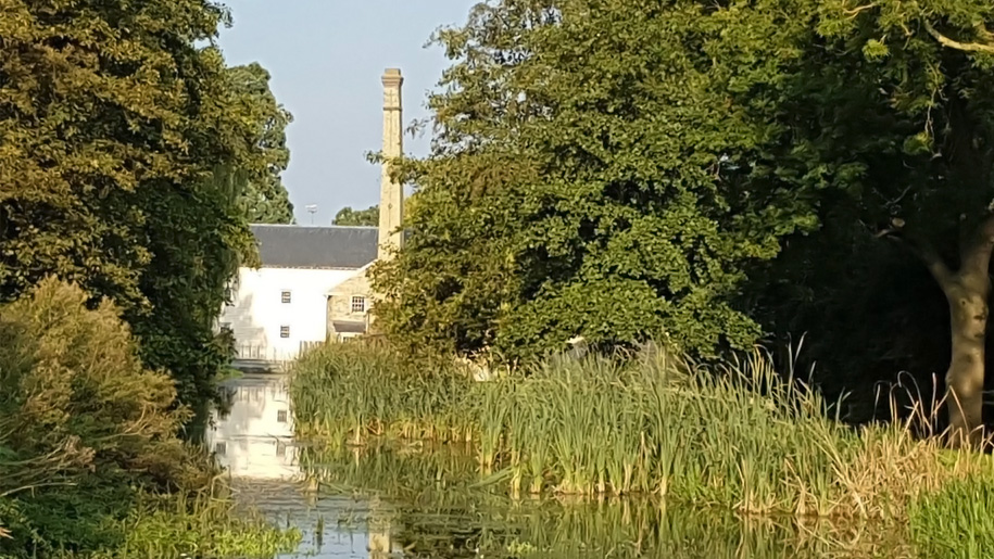 mill on river