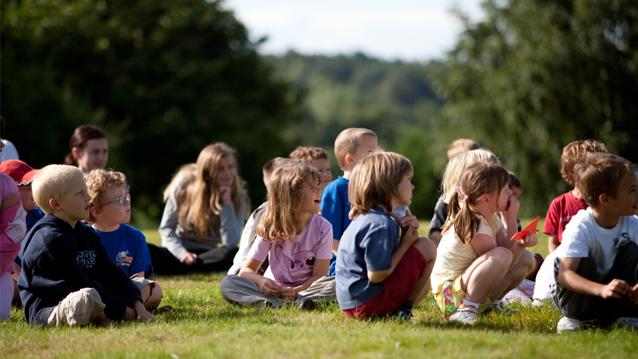 Super Camps Sevenoaks kids sitting