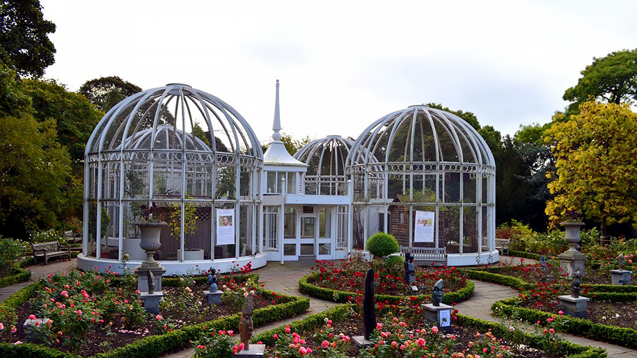 view of botanical gardens