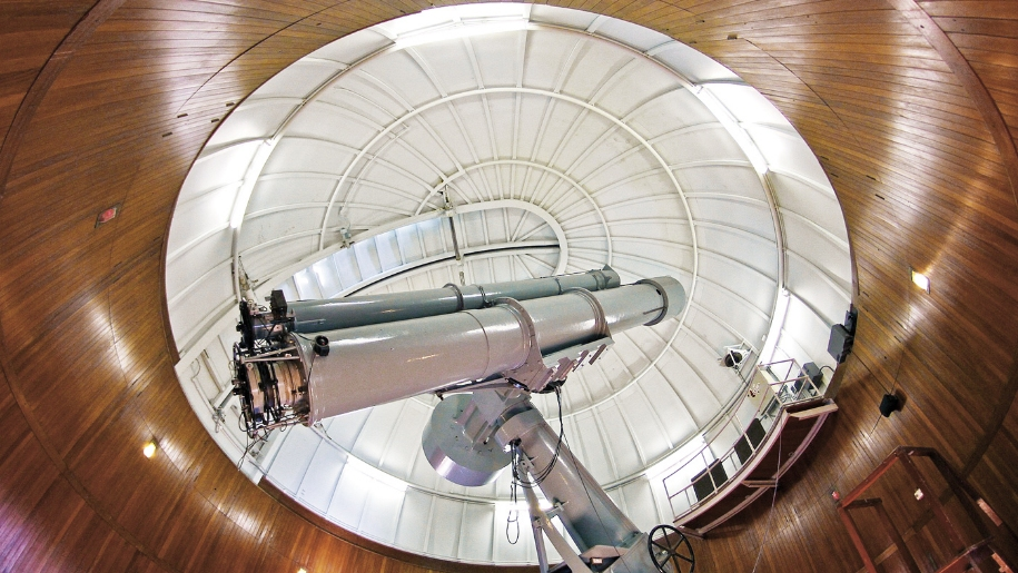 Inside the Observatory Science Centre
