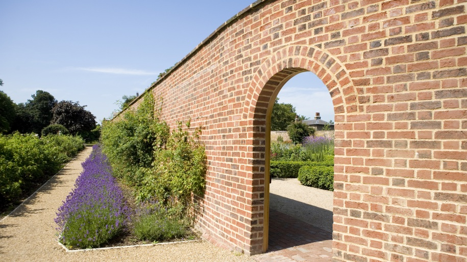 gardens with wall