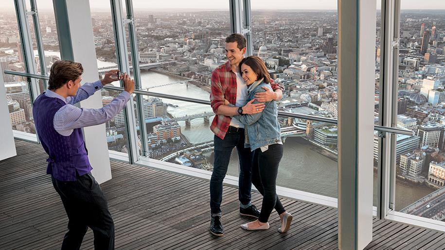 couple having their photo taken
